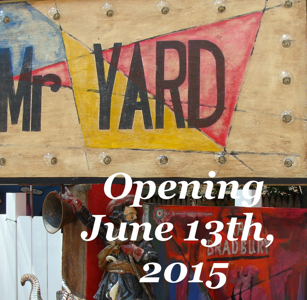 Mr Yard an Outdoor ArtScape Installation