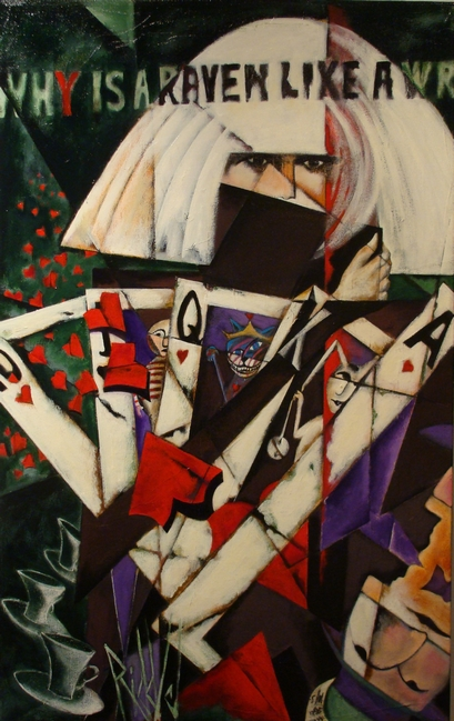 Lady Gaga Poker Face, Steven Paul Riddle, Marion Royael Gallery