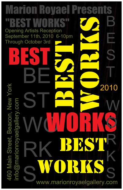Best Works Exhibit, Marion Royael Gallery